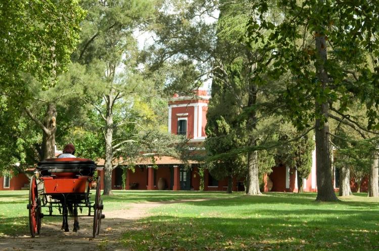 San Antonio de Areco, en la provincia de Buenos Aires.