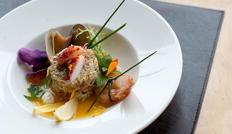 Un plato característico de Tierra del Fuego, a la mesa