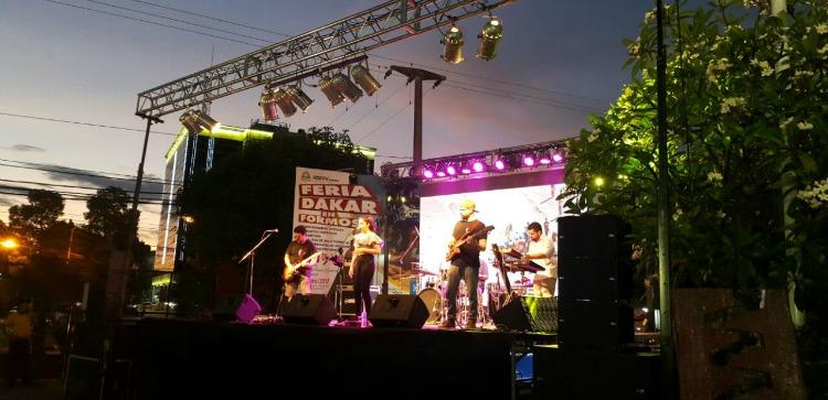 Espectáculo en la feria Dakar de Formosa